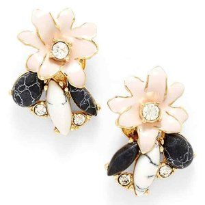 Kate Spade New York Glossy Petals Cluster Stud NWT